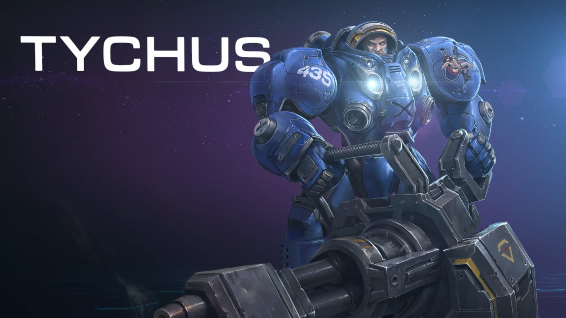 Tychus - Heroes of the Storm