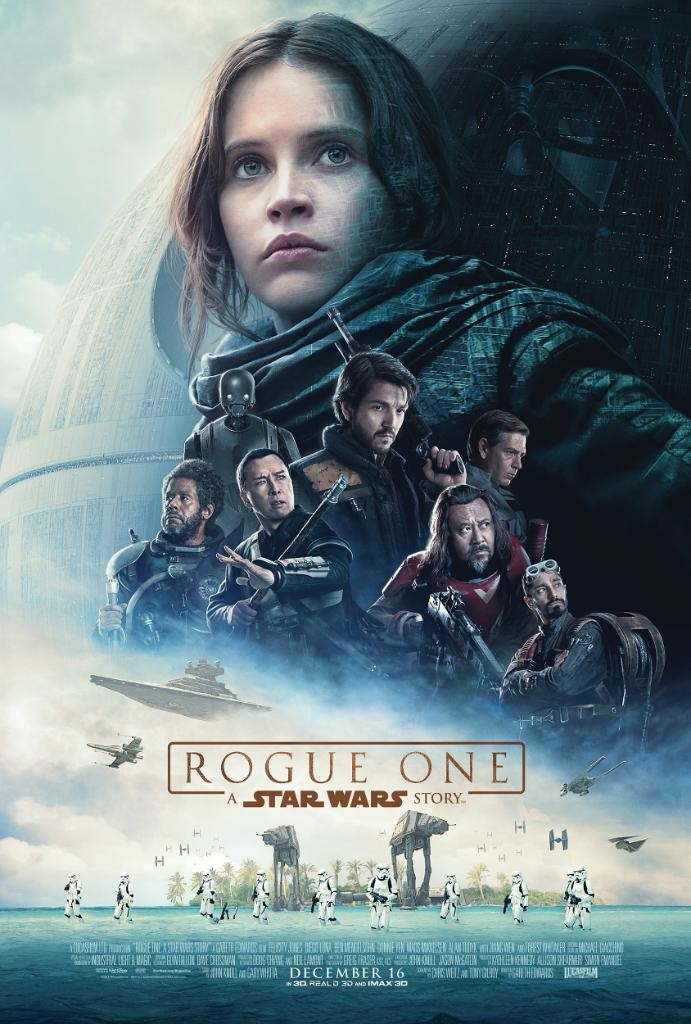 "Cartel final de ""Rogue One: Una historia de Star Wars"""