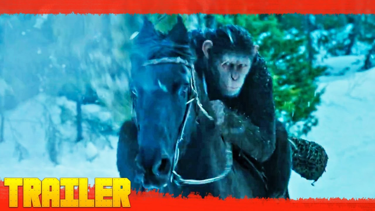 War For The Planet Of The Apes (2017) Primer Tráiler Oficial Español