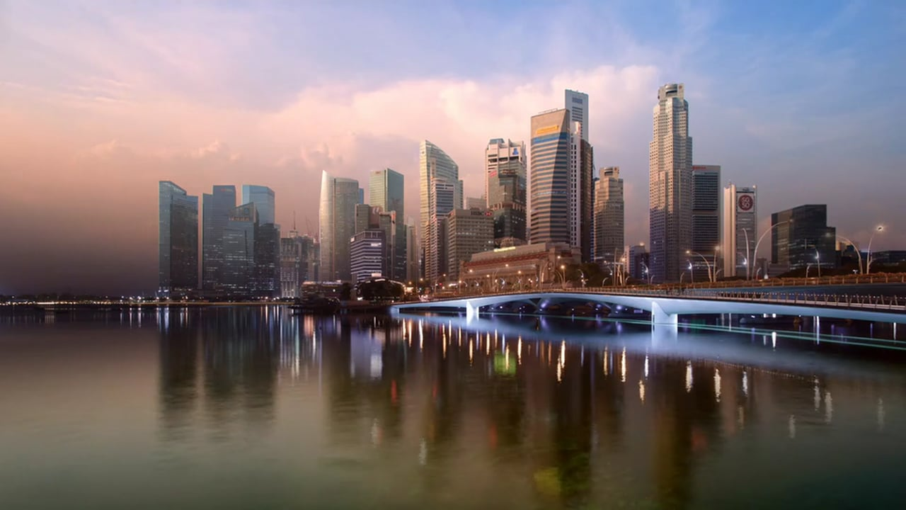 Timelapse The Lion City II - Majulah by Keith Loutit