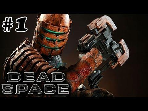 DEADSPACE GAMEPLAY WALKTHROUGH PART 1 - OH MY! (XBOX 360/PS3 GAMEPLAY)