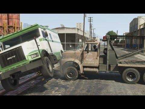GTA V - Armored Car Heist - Gameplay (PS3)