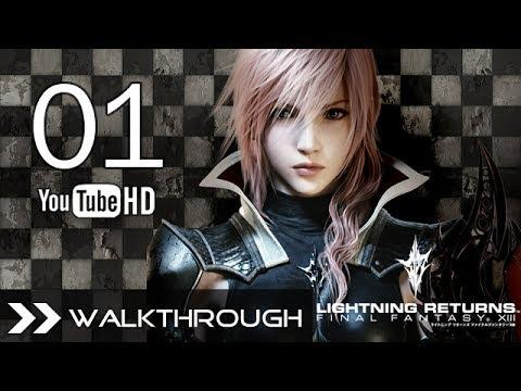Lightning Returns Final Fantasy XIII Walkthrough Gameplay Part 1 Opening HD 1080p PS3 English