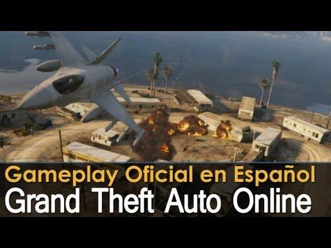 Grand Theft Auto V Online - Gameplay Oficial en Español - PS3 / X360