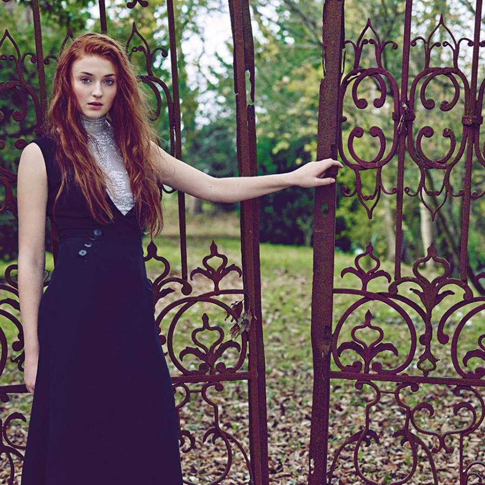 Sophie Turner para Town & Country magazine