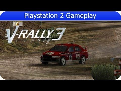 V-Rally 3 Gameplay (PS2 Gameplay)