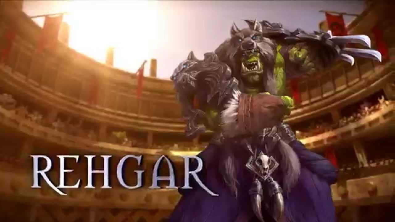 Rehgar - Heroes of the Storm