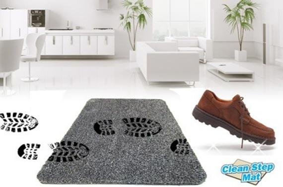Anunciado en TV Felpudo Clean Step Mat 45x71cm