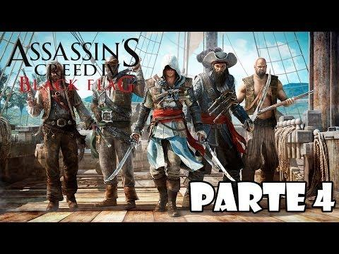 Assassin's Creed 4 Black Flag Gameplay Walkthrough Parte 4 - Español (Xbox 360/PS3/PC Gameplay HD)