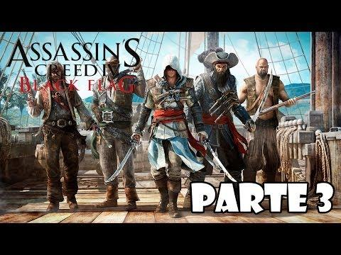 Assassin's Creed 4 Black Flag Gameplay Walkthrough Parte 3 - Español (Xbox 360/PS3/PC Gameplay HD)
