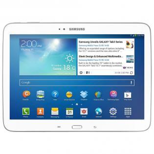 "Samsung Galaxy Tab 3 10.1 P5210 Wi-Fi (Tablet 10.1"" 16GB Android 4.2 Blanco)"