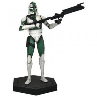 GENTLE GIANT Figura Commander Gree Clone (Estatua resina 30 cm Star Wars)