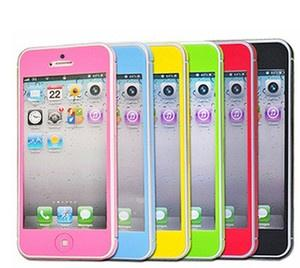 Protector de pantalla de colores para iPhone 5