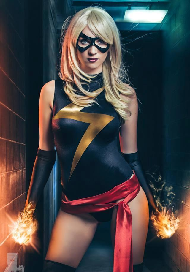 Ms. Marvel by Heather1337