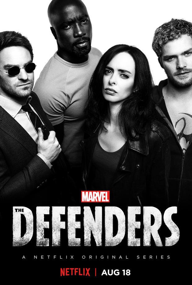 The Defenders - Crossover de Daredevil, Jessica Jones, Luke Cage y Iron Fist