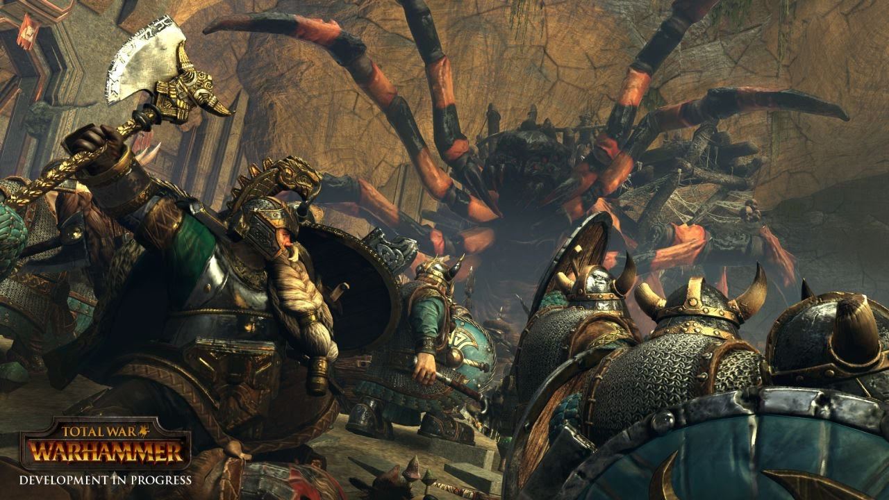 Gameplay de Total War Warhammer