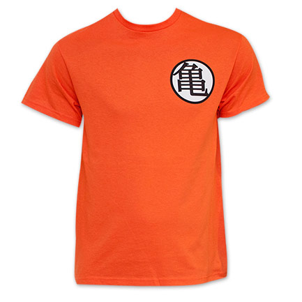 Camiseta Dragon Ball Z Orange King Kai Goku Symbol Costume ... 87a5d4d6a8