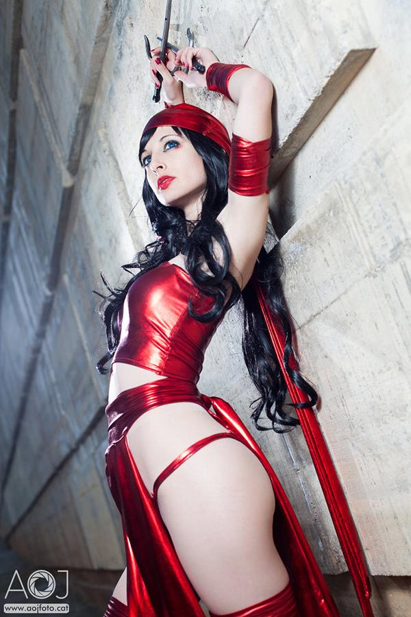 Elektra Cosplay by Ivettepuig