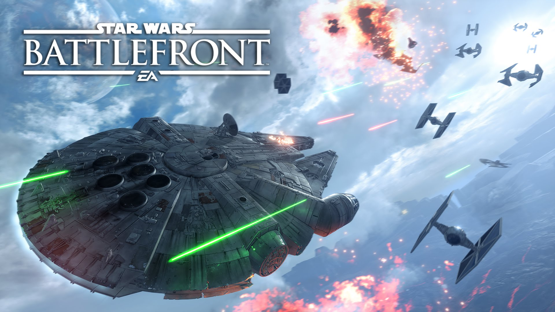 Star Wars: Battlefront - Fighter Squadron Mode Gameplay Trailer