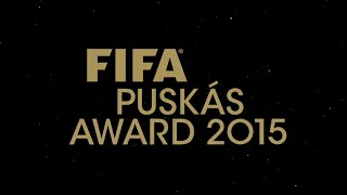 FIFA Puskas Award 2015 - Nominees Goals
