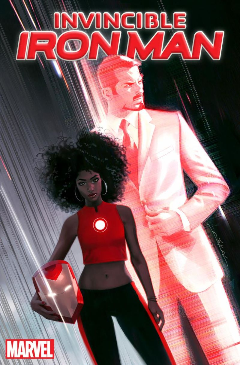 Riri Williams, la sucesora de Iron Man, una estudiante superdotada del MIT de 15años
