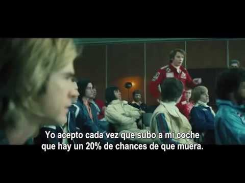 Rush Trailer 2013 Spanish subtitles - Daniel Brühl, Chris Hemsworth, Ron Howard.