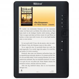 "TrekStor e-Book Reader 3 (Libro Electrónico 7"" Color LCD 2GB Negro)"