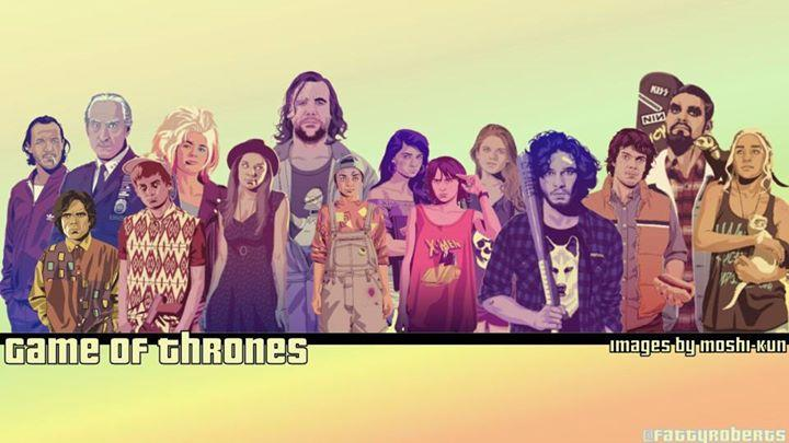 Gta Game Of Thrones Series Lovities