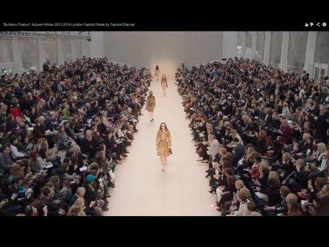 """Burberry Prosum"" Autumn Winter 2013 2014 London Fashion Week by FashionChannel"