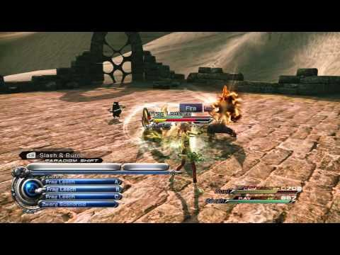 Final Fantasy XIII-2 - Combat Gameplay Trailer - PS3 / Xbox 360