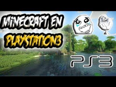 MINECRAFT EN PLAYSTATION 3!!! (Minecraft PS3 Edition) - ESPAÑOL - Gameplay