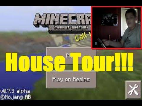Level Completed House Tour 2014 - Minecraft Pocket Edition [ IOS ] Gameplay