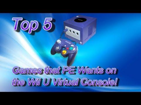 Top 5 GameCube Games we Want on the Wii U VC (1080p)