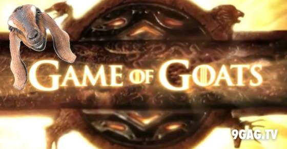 """""""Game of Thrones"""" Theme Song With Yelling Goats   9gag.tv"""
