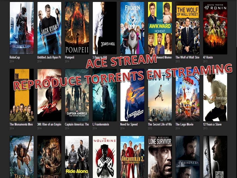 Ace Player HD reproducir torrents en streaming