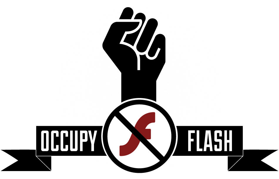 Occupy Flash - El movimiento para liberar al mundo de Flash Player