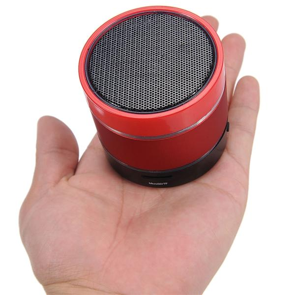 S09 Bluetooth 2.1 Altavoz con coloridas luces y Mic TF Slot / USB