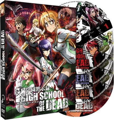 Pack High Scoohl Of The Dead (Edición integral)