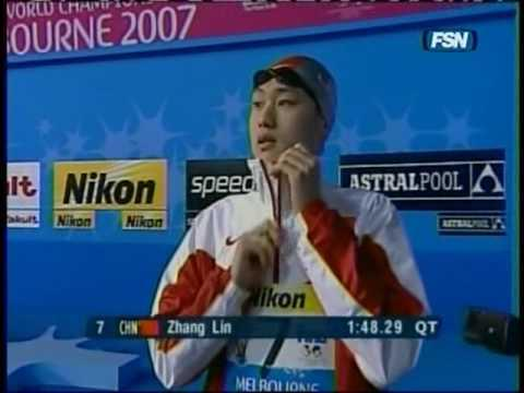 Michael Phelps 200m Freestyle Melbourne