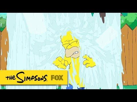 Simpsons Ice Bucket Challenge | THE SIMPSONS | ANIMATION on FOX