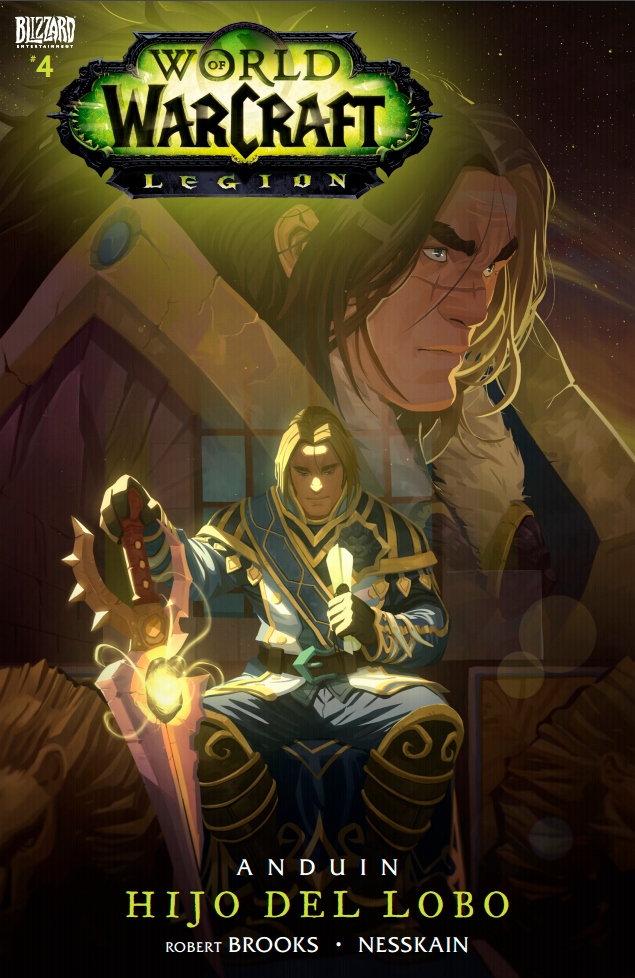 Hijo del lobo #4 - Cómic de World of Warcraft: Legion