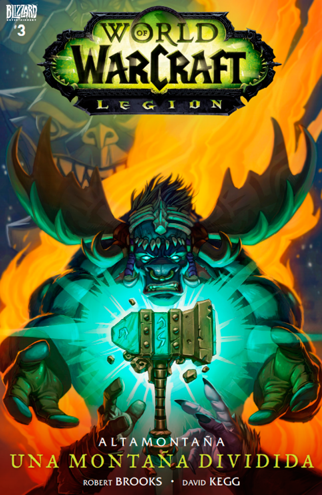 Una Montaña Dividida #3 - Cómic de World of Warcraft: Legion