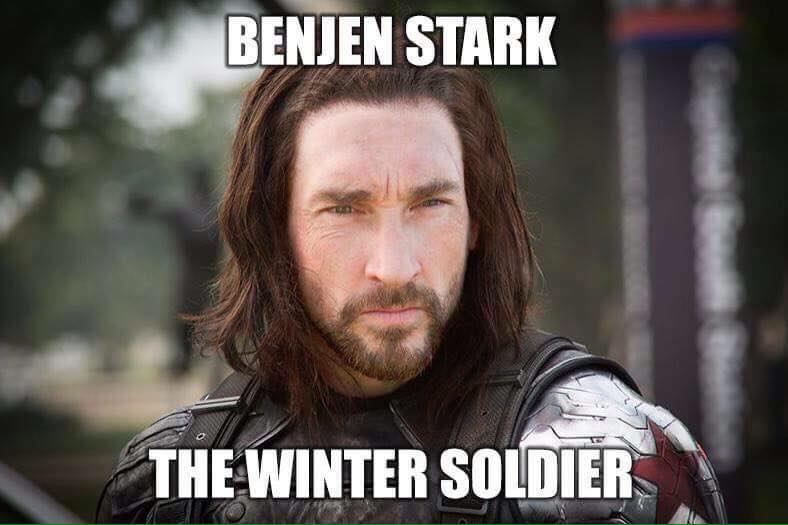 Benjen Stark, The Winter Soldier