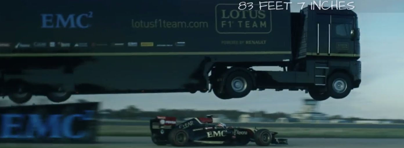 World-Record Truck Jump by EMC